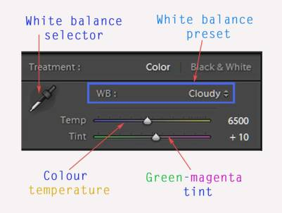 white balance lightroom